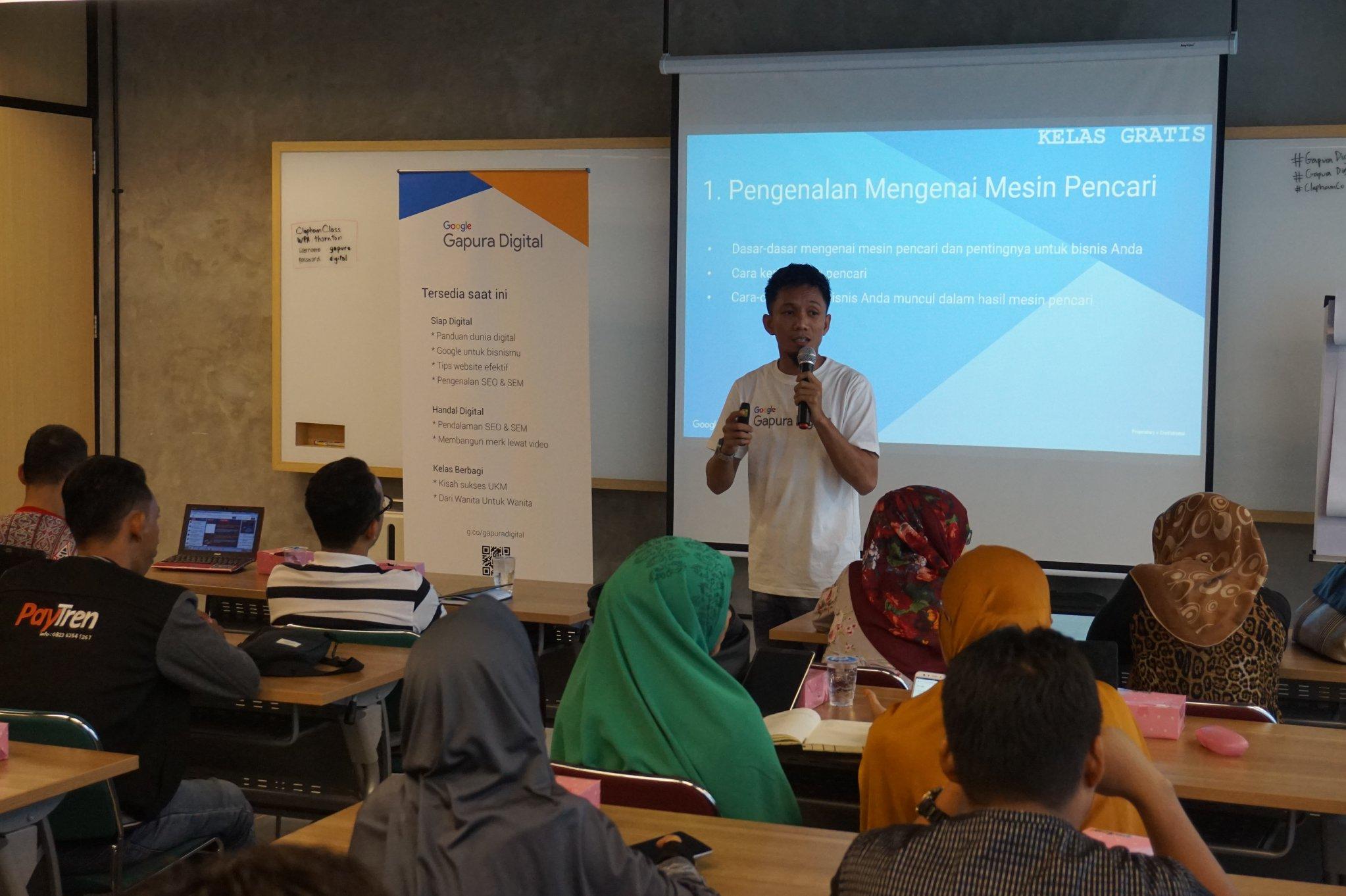 Wahyu Blahe Fasilitator Gapura Digital Medan