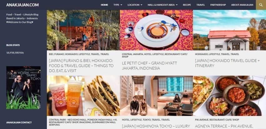 Contoh Blog Yang Menarik Dan Menghasilkan Uang Dari Adsense