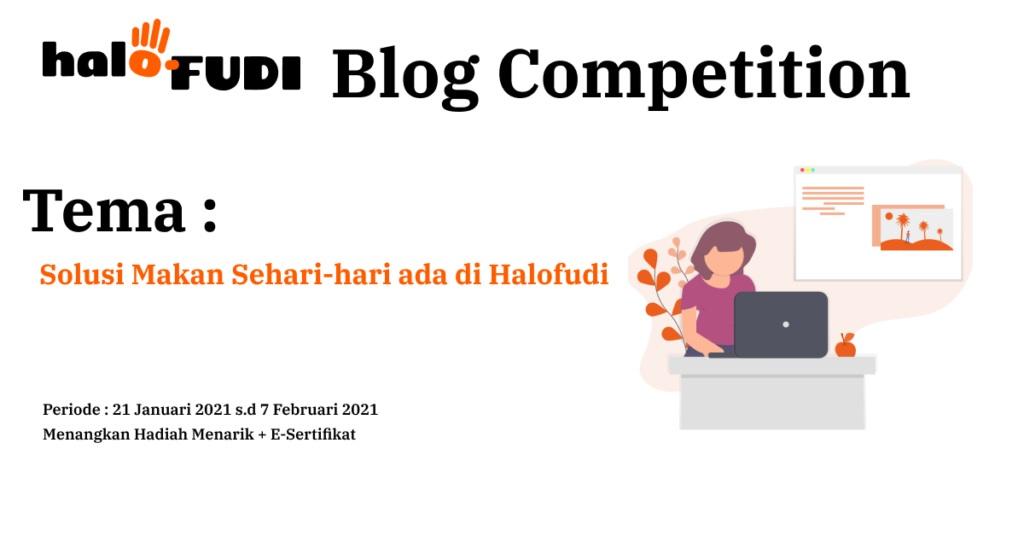 HaloFUDI Blog Competition Solusi Makan Sehari-hari ada di Halofudi