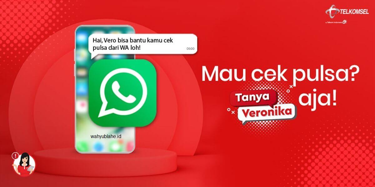 Tanya Veronica melalui WhatsApp